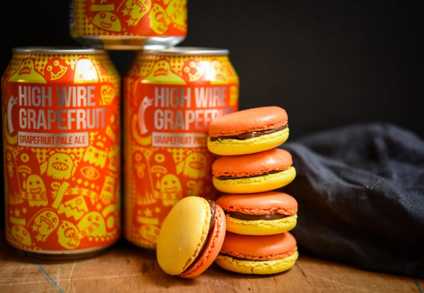 Highwire Grapefruit Macarons | Patisserie Makes Perfect