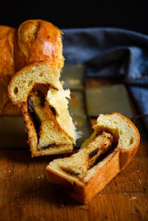 Chocolate Hazelnut Brioche | Patisserie Makes Perfect
