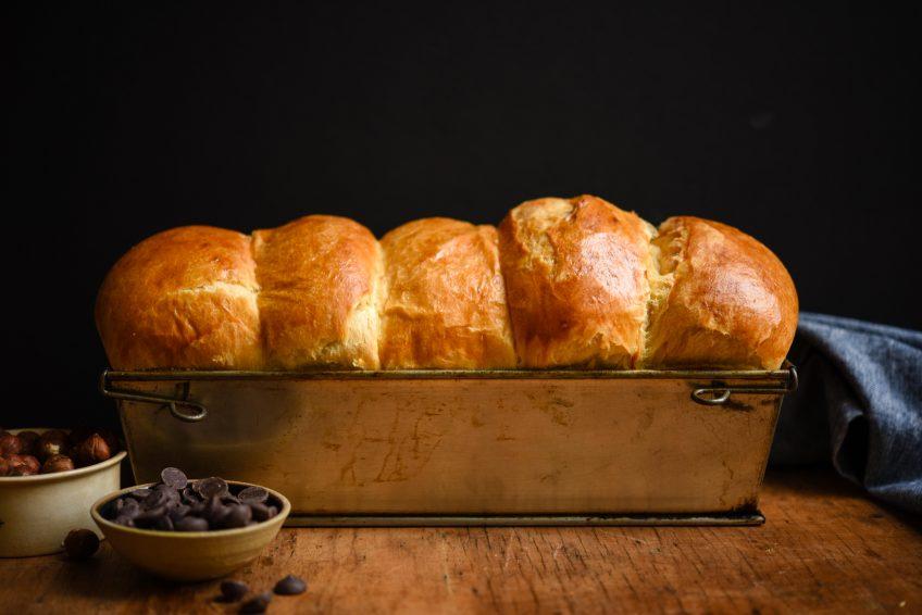 Chocolate Hazelnut Brioche | Patisserie Makes Perfect