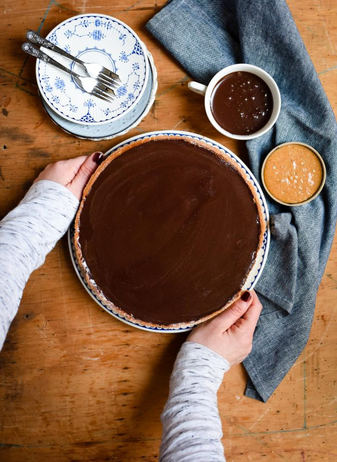 Chocolate Hazelnut Tart | Patisserie Makes Perfect