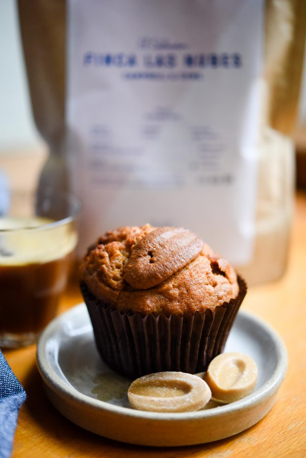 Banana, Pecan & Valrhona Dulcey Muffins | Patisserie Makes Perfect