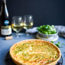 Smoked Salmon Quiche | Patisserie Makes Perfect