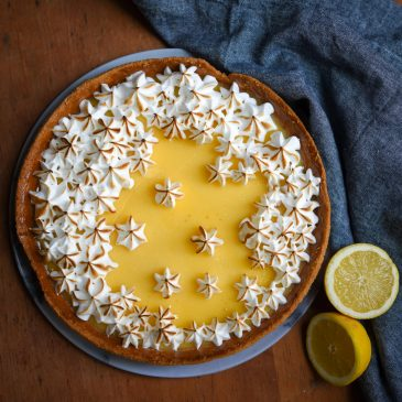 Lemon Tart With Italian Meringue