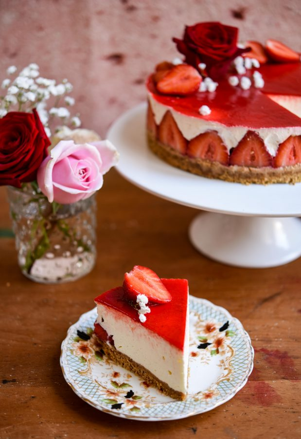No-Bake Strawberry Cheesecake   Patisserie Makes Perfect