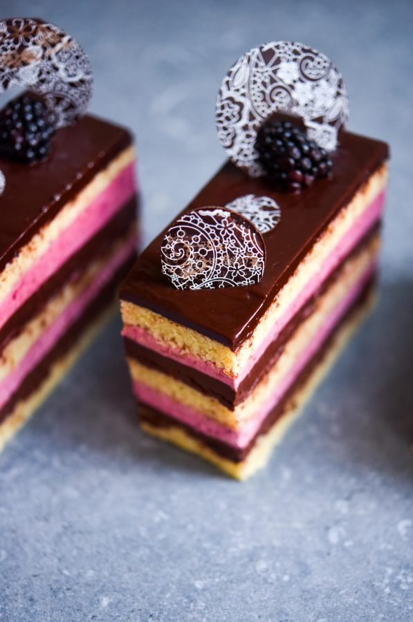 Blackberry Opera | Patisserie Makes Perfect