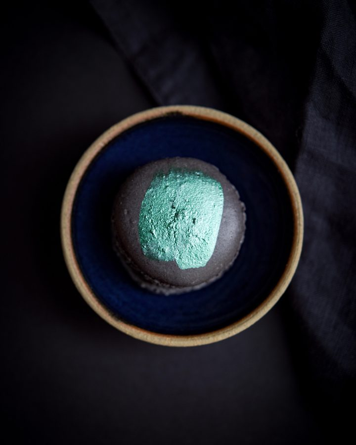 Mint Olive Oil Macarons | Patisserie Makes Perfect